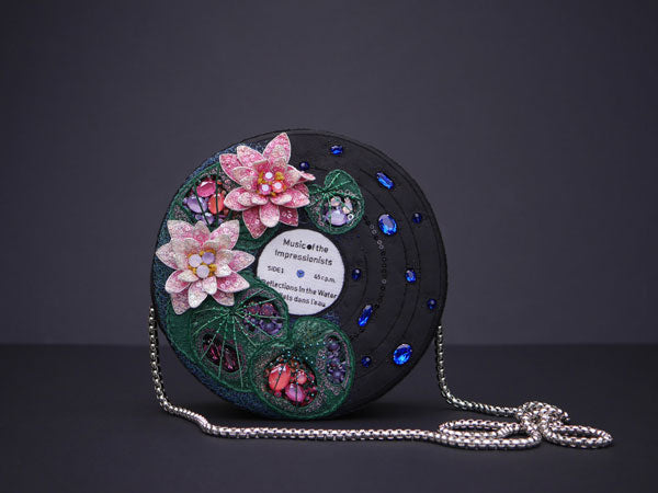 Zina Kazban Embroidered Record Bag
