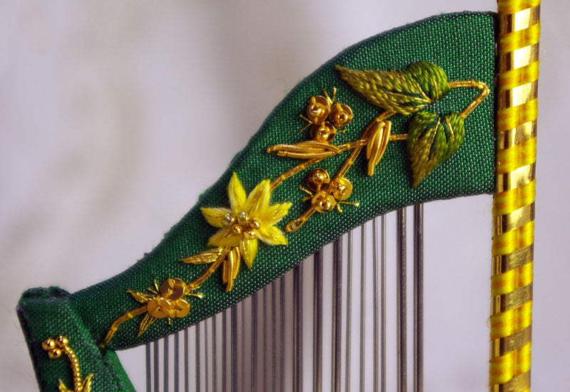 The Wordsworth Harp Needlecase - Jenny's replica