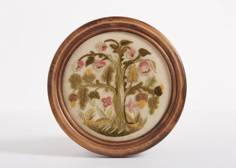 Elizabethan Oakapple Tree Crewel Embroidery Kit