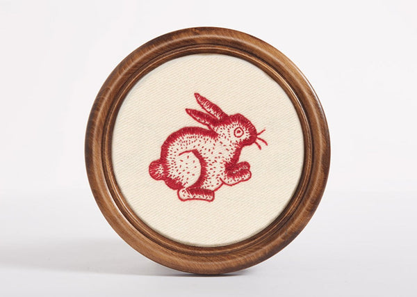 Redwork Rabbit Kit
