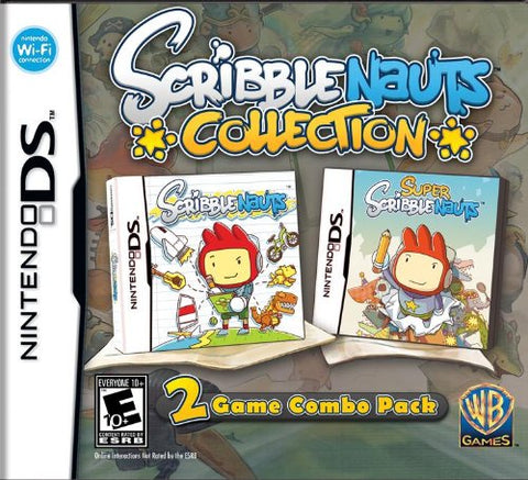 Nintendo DS Scribble Nauts Collection Game