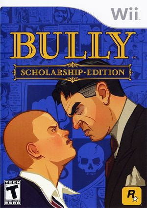Wii Bully Game- Scholarship Edition