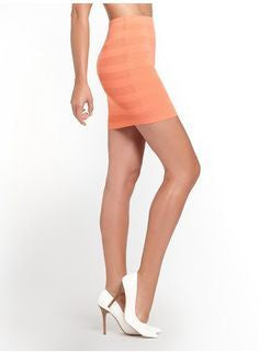 Guess DBL Knit Pointelle Skirt Coastal Coral-SHW