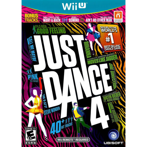 Wii U Just Dance 4 Game