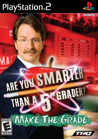 PS2 Are You Smarter Than A 5th Grader? Game