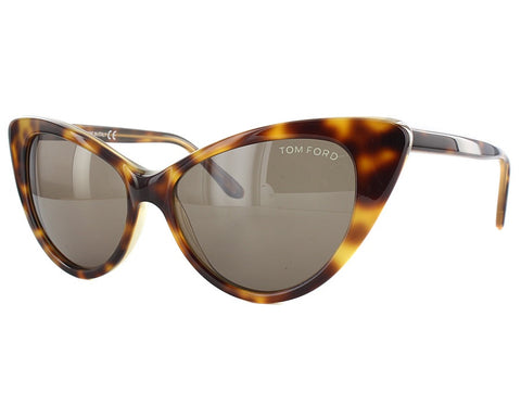 Tom Ford Nikita TF173 56J-Women Sunglass Havana Tortoise-GL