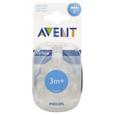 Philips Avent BPA Free Nipples, 2/pack