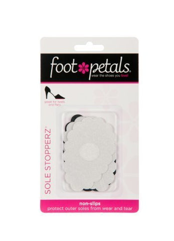 Foot Petals Sole Stoppers- Black & White-SHW/SHG/MT