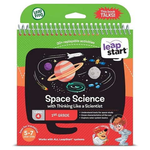 LeapFrog LeapStart 1st Grade Space Science Activity Book, Age 4-7 Years