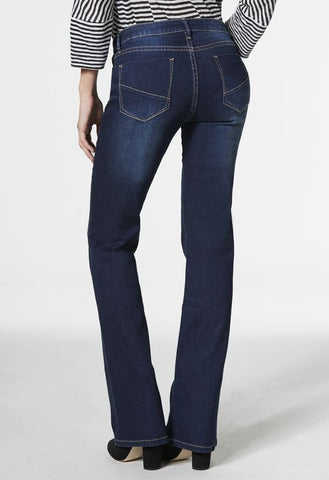 Justfab Women Ropa Boot Cut Jeans Dark Water Blue-SHW