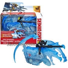 Transformers Movie Age of Extinction Dino Sparkers Series 6 Inch Long Action Figure, Blue, Age 4+