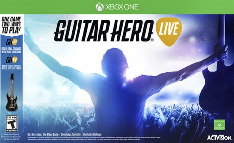 XBox One Guitar Hero Live