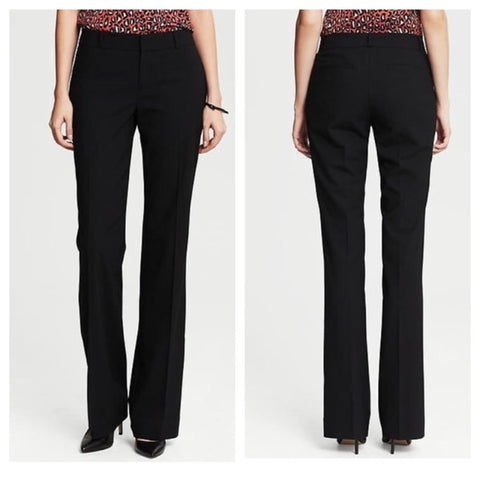 Banana Republic Women Martin Fit Stretch Trousers Dress Pants-GL