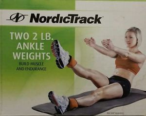NordicTrack Two 3LB  Ankle Weight Build muscle And Endurance