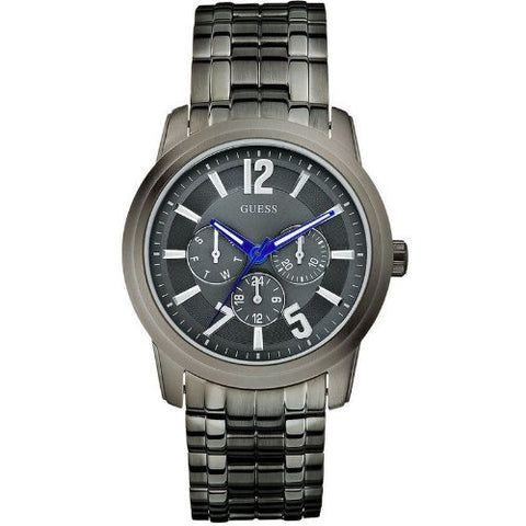 Guess U13630G1 Men Quartz Day & Date Gunmetal Tone Bracelet Watch