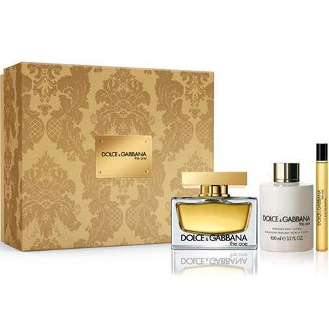 Dolce & Gabbana The One For Women 3-Piece Gift Set-BB/GL