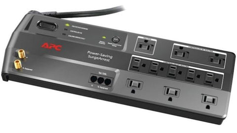 APC Power Saving Surge Protector 11 Outlet