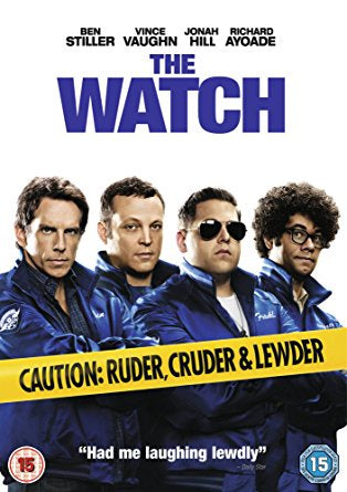 The Watch Blu-Ray Disc