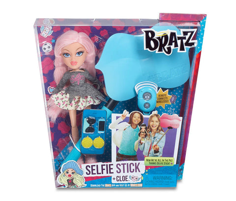 Bratz #Selfie Stick with Doll Cloe, Age 3+