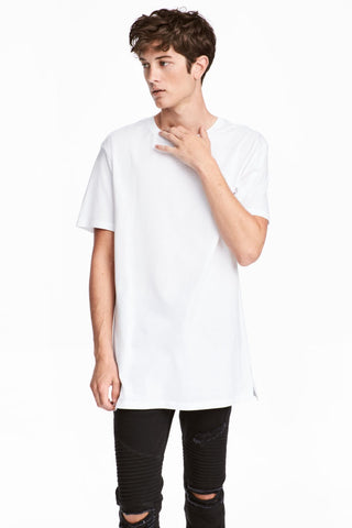 H&M Men 5868/1 Basic White TShirt-SHW