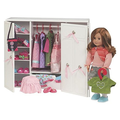 Our Generation Wooden Wardrobe, Age 3+