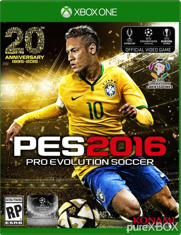 Xbox One Pro Evolution Soccer 2016 Game