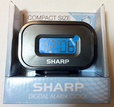 Sharp Compact Size Digital Alarm Clock