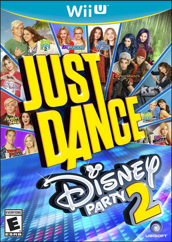 Wii U Disney Party Just Dance 2 Game