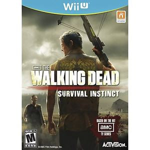 Wii U The Walking Dead Survival Instinct Game