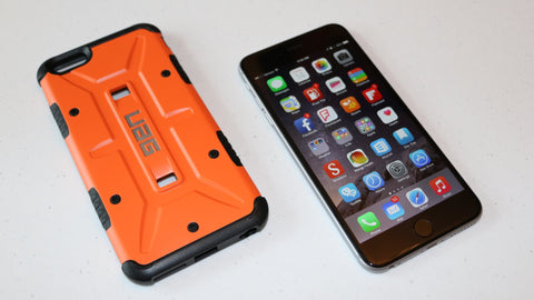 Urban Armor Gear Composite Case + Screen Protector For Apple Iphone 6