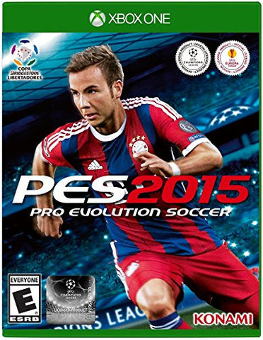Xbox one Pro Evolution Soccer 2015 Game