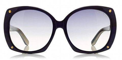 Tom Ford gabriella TF362 01B-Women Sunglass  Black/Smoke Grey Gradient-GL