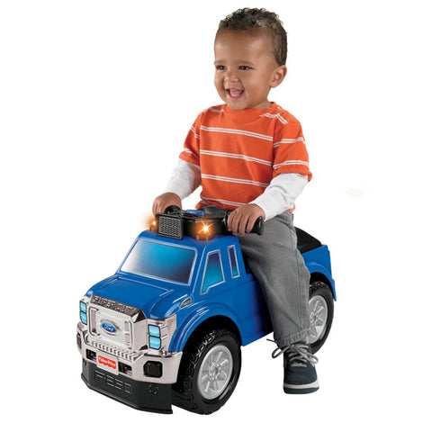 Fisher-Price W8674 Power Wheels Ford Super Duty Pick-up Blue/Black