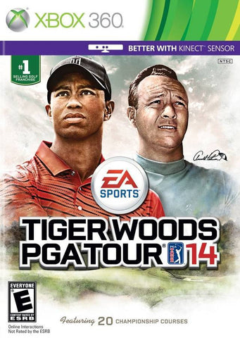 Xbox 360 Tiger Woods PGA Tour 14 Game