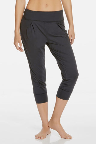 Fabletics Yoga Capri - Dark Gray-SHW