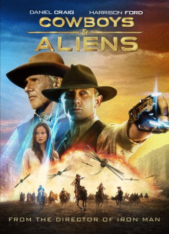 Cowboys & Aliens Extended Edition Blu-Ray Disc