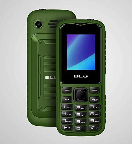 BLU Tank Mini T650 32MB Dual-SIM Flashlight Cellphone