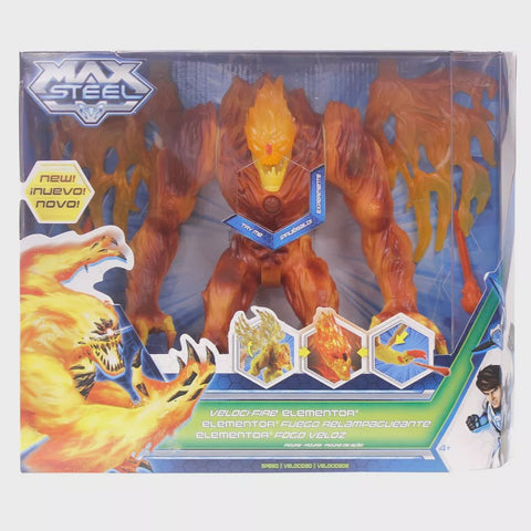 Max Steel Fire Elementor Action Figure