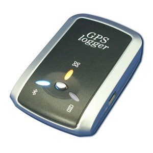 Bluetooth GPS Receiver With 16Mb Push to Log Data Logger Smart Auto power Control