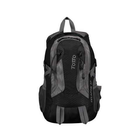 Totto Morral Telapon Backpack Negro/Gris-GG/MT