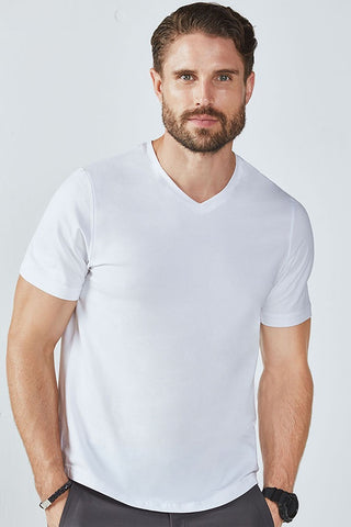 Fabletics Men Kent Tee White-SHW