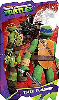 Teenage Mutant Ninja Turtles Enter Shredder Children's Book