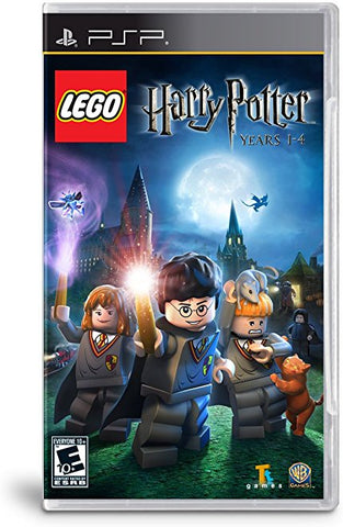 PSP Harry Potter Years 1-4 Game