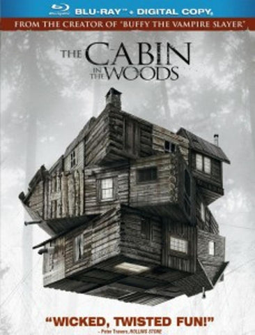 The Cabin In The Woods Blu-Ray Disc