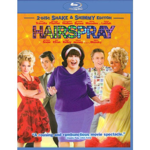 Hairspray (Shake & Shimmy Edition) Blu-Ray Disc