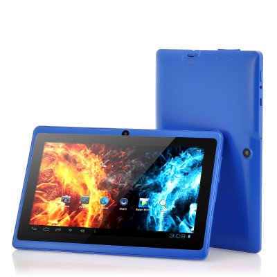 Gizmo 7 Inch Tablet PC Quad Core Google Android 4.4 KitKat 8GB WIFI HD
