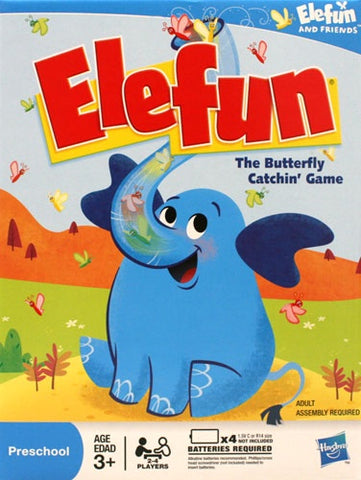 Elefun The Butterfly Catchin' Game,