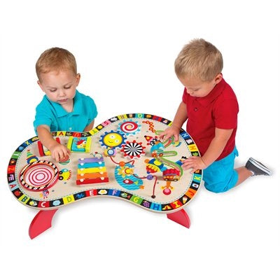 Alex Toys Jr. Sound & Play Busy Table Activity Center, Age 18m+