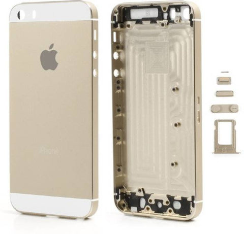 Iphone 5S Smartphone Back Housing Gold/White