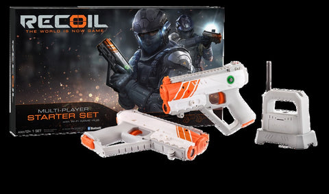 Recoil Starter Set - Gps Enabled Smartphone-Powered Laser Combat, Age 12+
